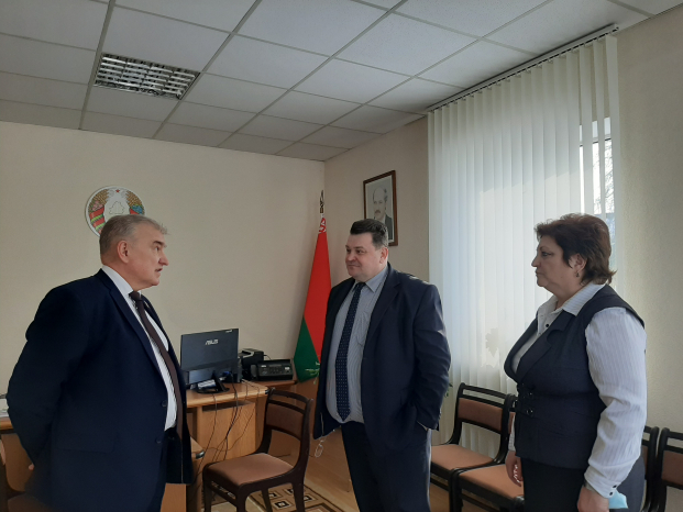 Беседа с представителями местной власти